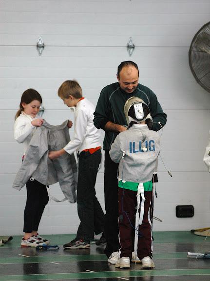 Stenciling of Fencing Gear